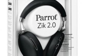 Parrot Zik 2.0 test, prix et promotion